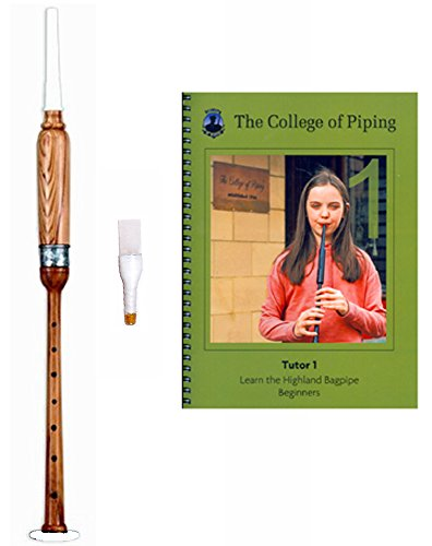 [해외]Bagpipes Practice Chanter Kit (Rosewood Practice Chanter, Interactive Book & CD, & Gibson Reed)/Bagpipes Practice Chanter Kit (Rosewood Practice Chanter, Interactive Book & CD, & Gibson Reed)