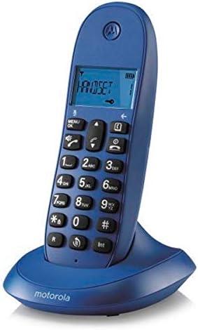 motorola C1001LB+ - Teléfono (Teléfono DECT, 50 entradas, Identificador de Llamadas, Verde): Amazon.es: Informática