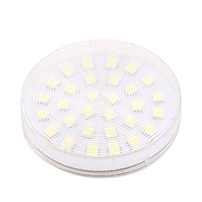 Bonlux Gx53 LED Puck Light 30pcs 5050smd LED Chips Ceiling Down Light Cabinet Lamp Ac110v/220v Downlight Bulb(cold White)