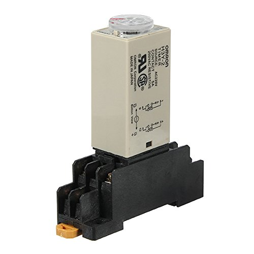 - H3Y-2 220V Power On Time Delay Relay Solid State Timer DPDT Socket