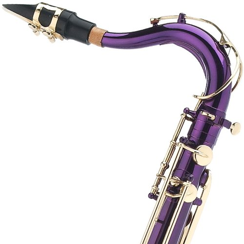 Cecilio TS-280PL 2Series Tenor Bb Saxophone with Mouthpiece, Case, 10 Reeds, and Accessories - Purple Lacquer by Cecilio (Image #6)