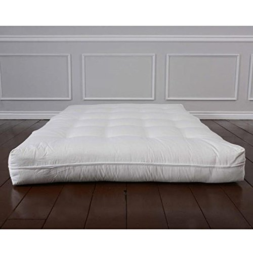 Luxury All Natural Wool Futon Mattress