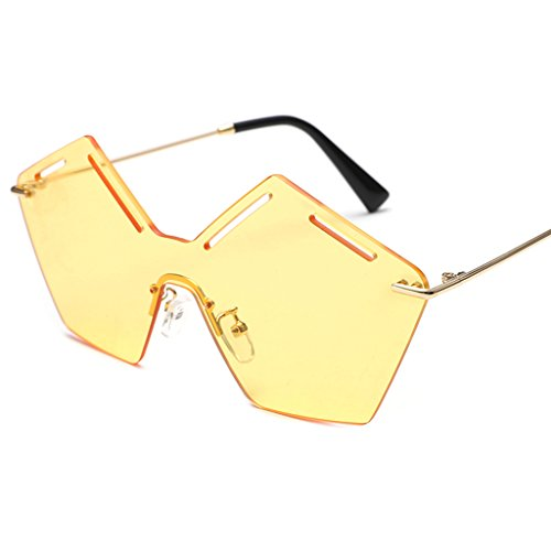 William 337 Lady Fashion Sunglasses Occhiali da sole personalizzati poligonali ( Colore : #6 ) E9oOl