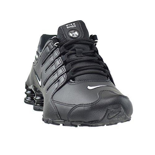 8528ab92c44 Nike Shox NZ EU Men s Running Shoes Black White-Black - Import It All