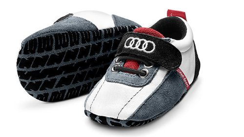 Audi Sport Baby Sch/ühchen Gr 17-18 schwarz//wei/ß//rot