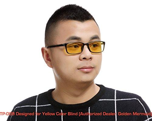 6045f01a246f TP-009 Yellow Color Blind Glasses (Tritanomaly Tritanopia) - Import ...