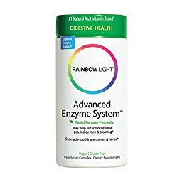 Rainbow Light - Advanced Enzyme System™ - Supports Digestive System - 180 vCaps