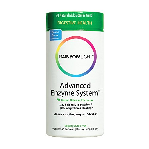 rainbow light advanced enzyme system supports digestion 90. Black Bedroom Furniture Sets. Home Design Ideas
