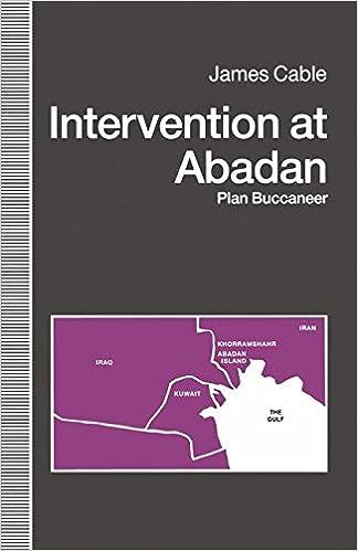 Intervention at Abadan: Plan Buccaneer