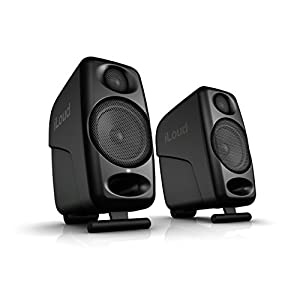 IK Multimedia iLoud Micro Monitors Ultra-Compact 3″ Studio Monitors with Bluetooth – IP-ILOUD-MM-in