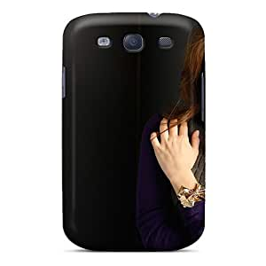 New Fashionable Douglasjoy2014 Ain9757KsYq Covers Cases Specially Made For Galaxy S3(wide Celebrities Emmy Rossum Screen Inpainted) Black Friday