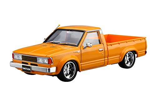 Datsun Truck (Aoshima 1/24 The Tuned Car No.22 Nissan Datsun Truck Custom '82 Model Kit(Japan Import))