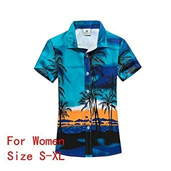 266eb91d Hawaiian Shirt Mens Womens Camisa Masculina Printed Aloha Shirts Short  Sleeve Hawaiian Shirts and Beach Shorts