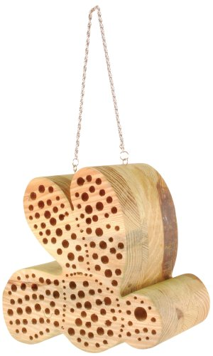 Esschert Design WA04 Bee-shaped Bee House