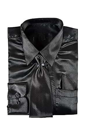 Amazon.com: King Formal Wear Classy Men's Satin Shiny ...