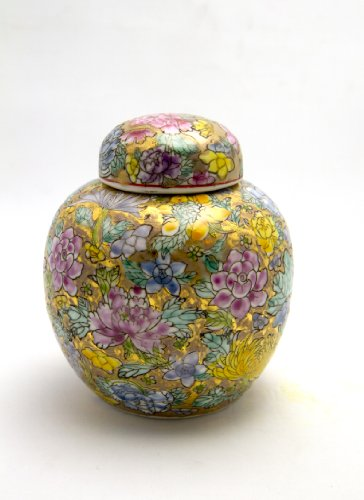 - Chinese Porcelain Pearl Ginger Jars 6