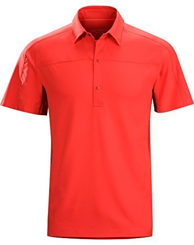 Arcteryx Polos (Arcteryx Adventus Comp SS Polo - Men's Diablo Red Small Size: Small Color: Diablo Red, Model: 14469, Car & Vehicle Accessories /)