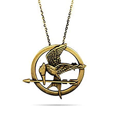 New world the hunger games catching fire logo mockingjay pendant new world the hunger games catching fire logo mockingjay pendant necklace vintage mozeypictures Images