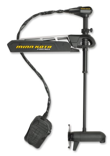 "Minn Kota Fortrex 101 Bow-Mount Trolling Motor with Universal Sonar (101-lb Thrust, 62"" Shaft)"