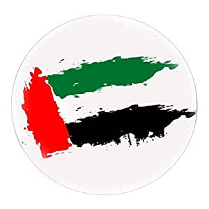 United Arab Emirates Flag Round Coaster