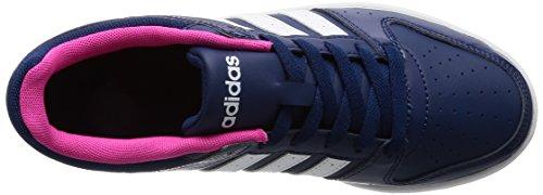 adidas Vs Hoopster W, Scarpe da Ginnastica Donna, Blu (Azumis/Ftwbla/Rosimp), 36 EU