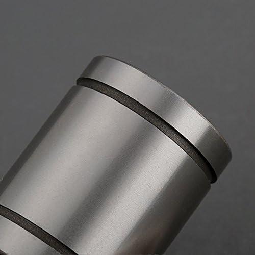 Katigan 4 pcs LM20UU 20x32x42mm double face Caoutchouc Joint lineaire Boule de mouvement Palier Bague