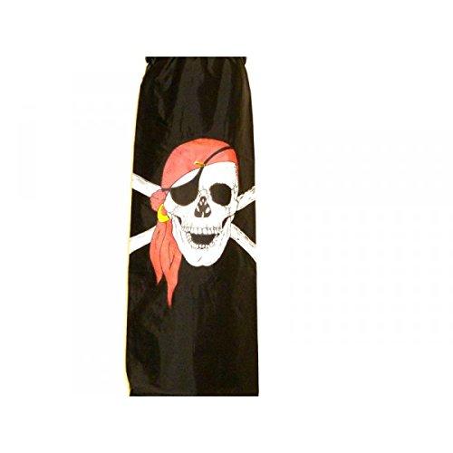 60 inch Pirate Red Bandana Nylon Windsock