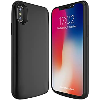 Iphone x battery case qi wireless charging for Iphone x portable charger