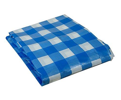 UST Blue Sky Gear Table Cloth, Blue