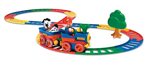 Tolo Toys First Friends Deluxe Train Set (Tolo First Friends Train)