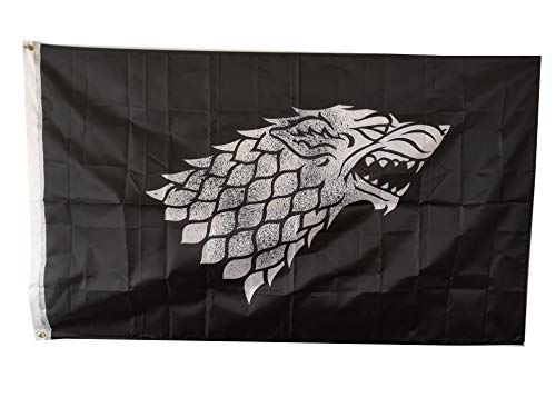 (Game of Thrones Stark Sigil Flag 3' X 5' )