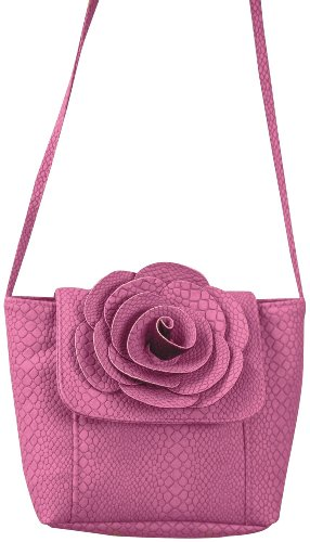 Woodworkers Bag Manual - Manual Woodworkers Flower Travelette Pink Cross Body Handbags