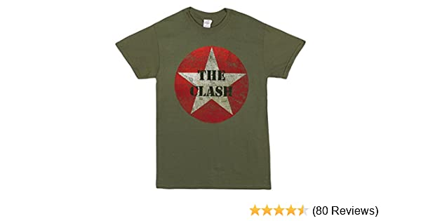 New The Clash Straight to Hell Rock Band Logo Men/'s Black T-Shirt Size S-3XL