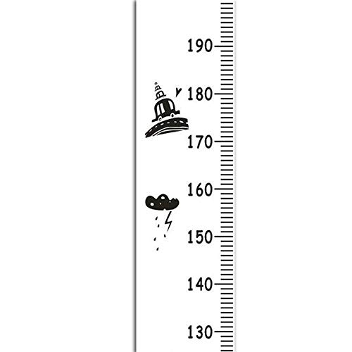 Kids Growth Chart, Child Height Ruler Portable Personalized Photography Props Wall Hanging Height Measure Ruler - Cartoon (Personalized Growth Dinosaur Chart)