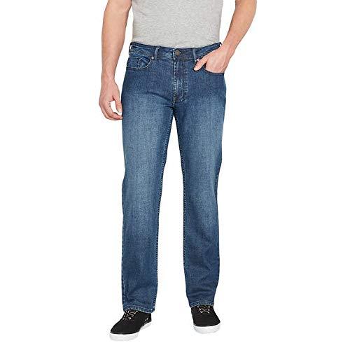 (Buffalo David Bitton Men's Jackson-X Straight Fit Jeans for Men (34x30,)