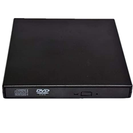 Runfon Caja Fina Externo USB 2.0 DVD RW Laptop CD-ROM ...
