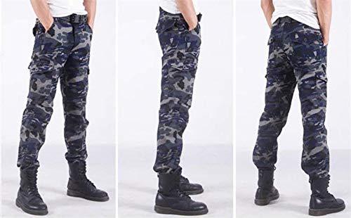 All'aperto Uomo Mimetici Lunghi Autunno Marine Skinny Sportivi Pantaloni Huixin Da Sportivo Primavera Sciolto Cargo Casual Movimento xqUwXtH4