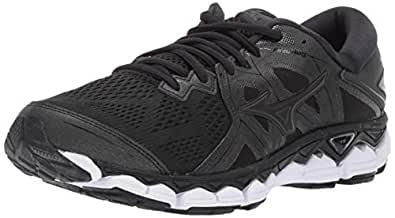 Mizuno Women's Wave Sky 2 Running Shoe, Black, 6 B US