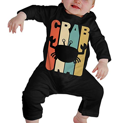 Long Sleeve Cotton Rompers for Unisex Baby, Cute