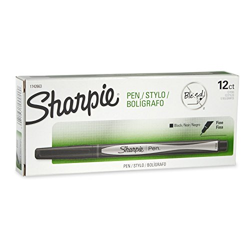 sharpie-pen-fine-point-black-12-count