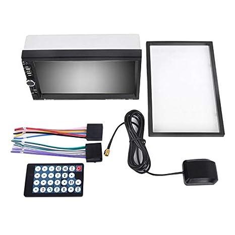 Functy 7-Pulgadas 1080p HD de Coches MP5 con GPS de Navegaciã³n Manos Libres Bluetooth: Amazon.es: Electrónica