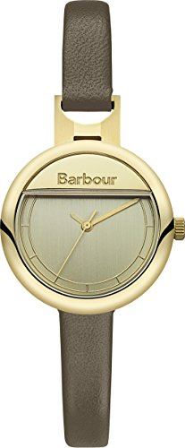 Barbour BB005GDGR Ladies Harton Brown Leather Strap Watch