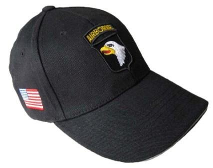 Epic Black US 101st Airborne Baseball Cap