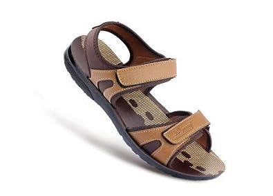 Buy PARAGON Men's Brown Fashion Sandal