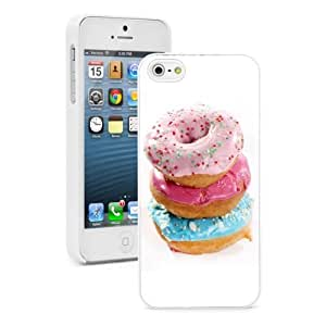 For Apple iPhone 4 4S Hard Case Cover Stack of Donuts -02