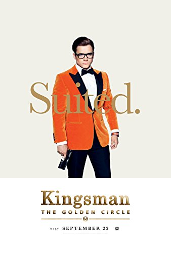 Kingsman: The Golden Circle 2017 Movie Poster Matte style / Eggsy: Taron Egerton