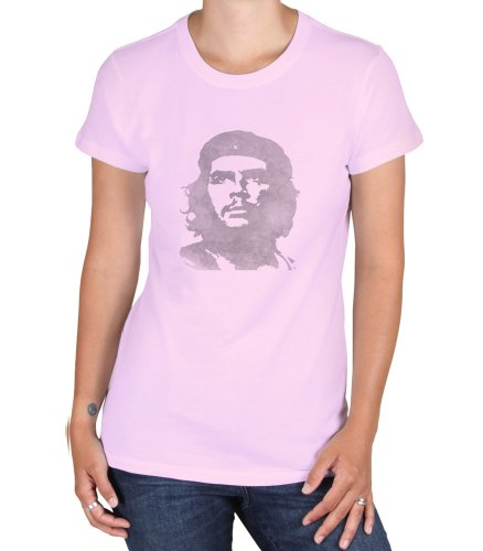 36af41b1965 The Che Guevara Store Classic Distress Women s T-shirt Light Pink
