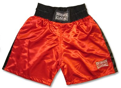 Traditional Boxing Trunks, Blue or Red Color. Kids and Adult Sizes