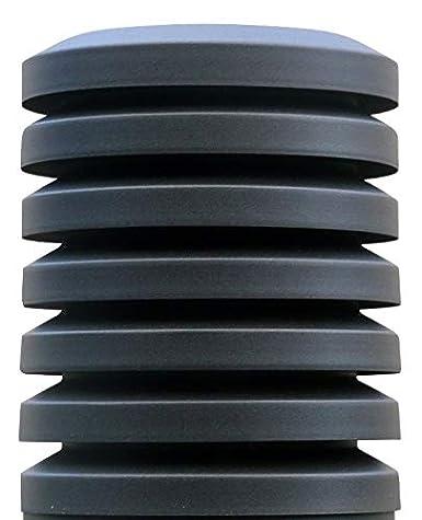 Sombrero chimenea PARAVENT Diámetro 300mm. Galvanizado Oxirón Negro …