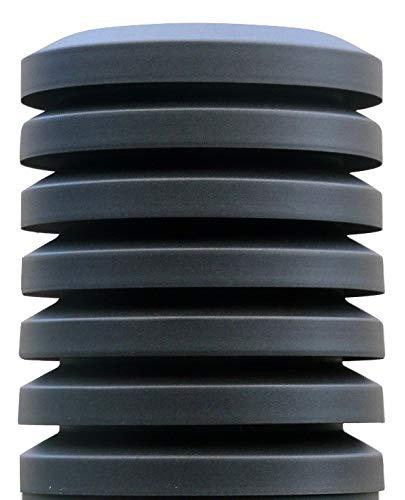 Sombrero chimenea PARAVENT Di/ámetro 300mm Galvanizado Oxir/ón Negro /…